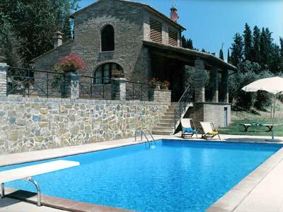 Chianti Villa Rentals with Swimming Pool