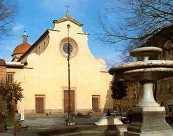 Piazza Santo Spirito Florence, Italy