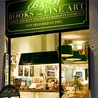 B M Bookshop Florence, Italy